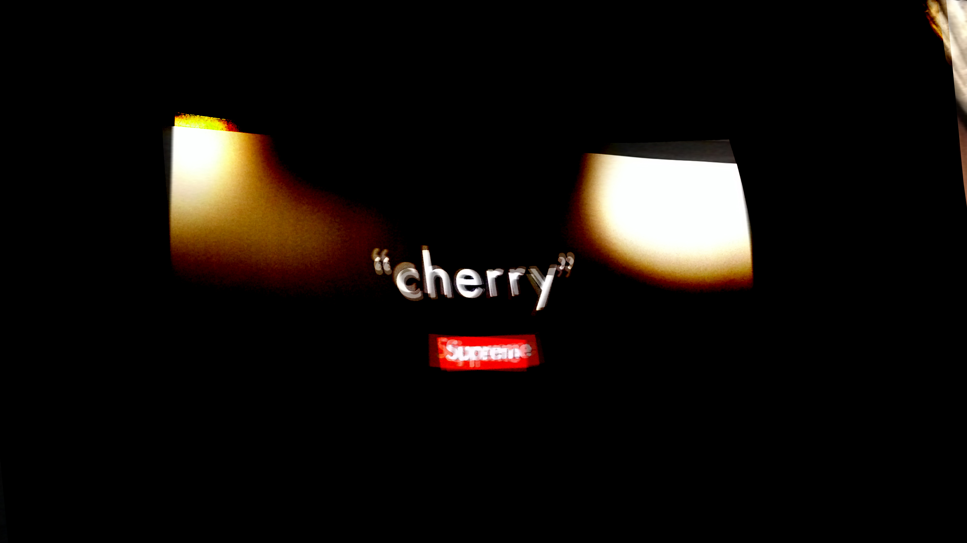 """cherry"" world tour in TOKYO by supreme"