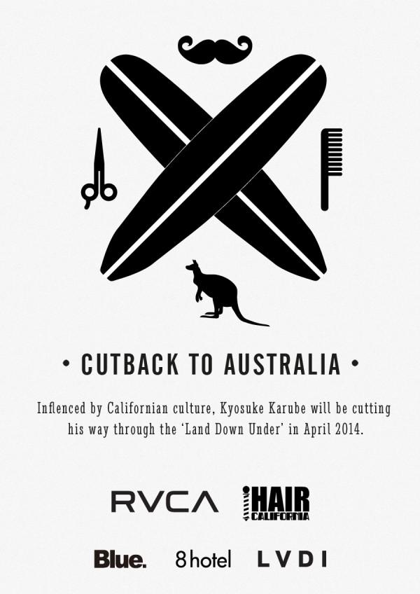 ・CUTBACK TO AUSTRALIA・