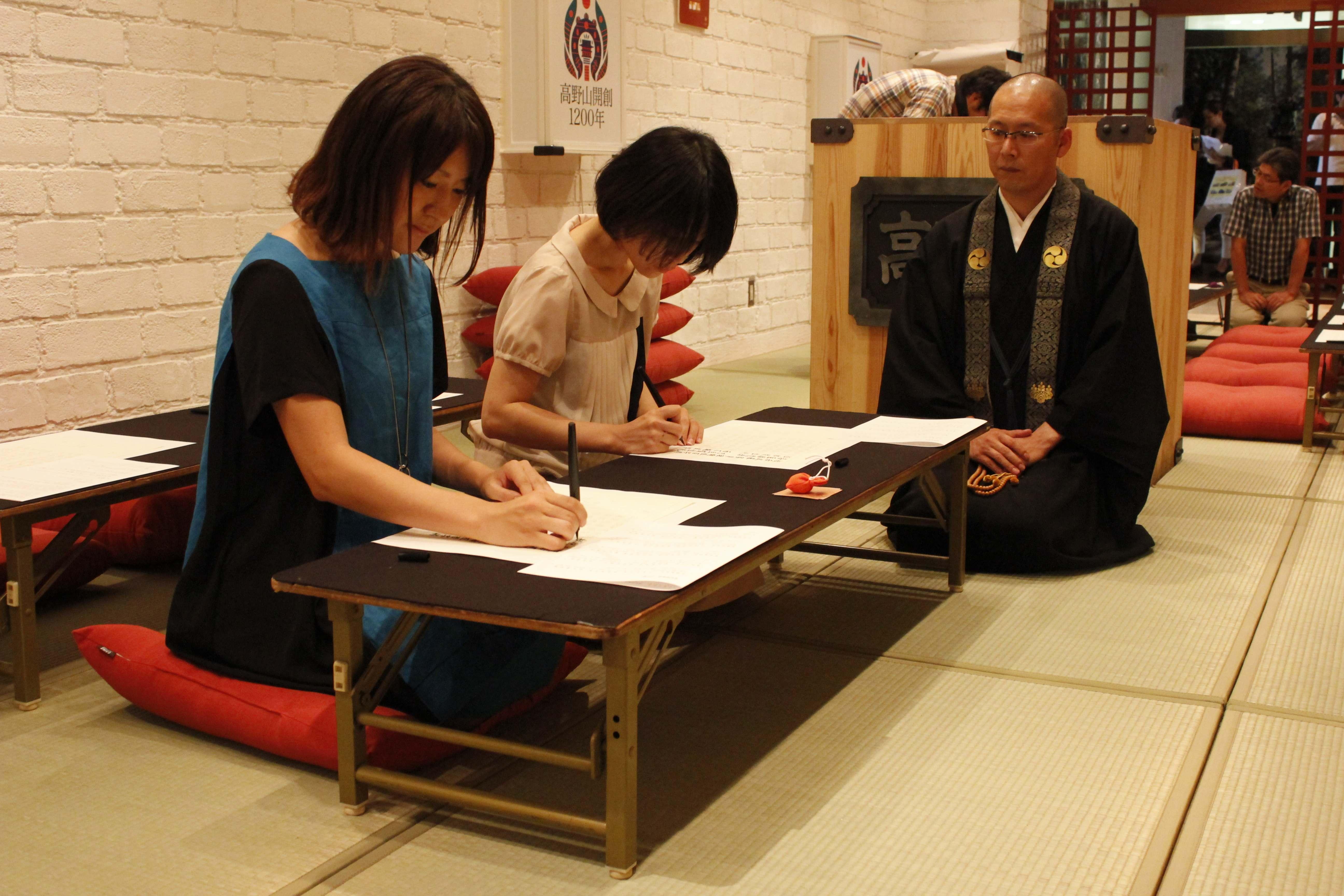 東京・丸の内で気軽に高野山が体験できる 「高野山カフェ」 in丸の内ハウス2014