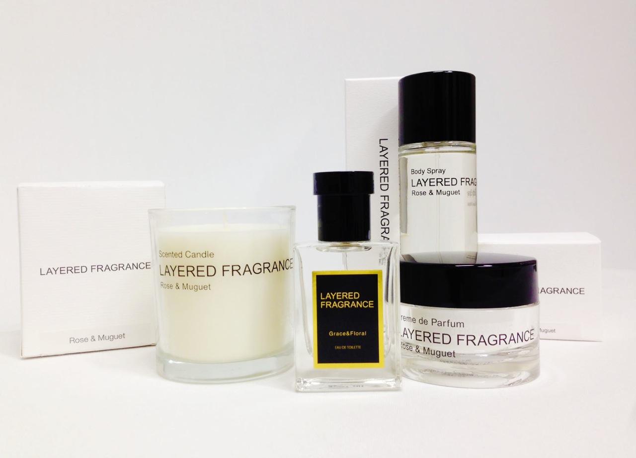 【LAYERED FRAGRANCE】限定香水~グレース & ローズ コレクション~発売