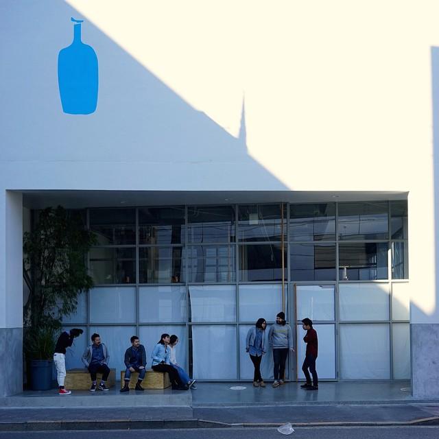Blue Bottle Coffee's Instragram via@bluebottle http://instagram.com/p/xzYb6sIDKt/
