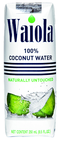 About 100% Coconut Water - Waiola -