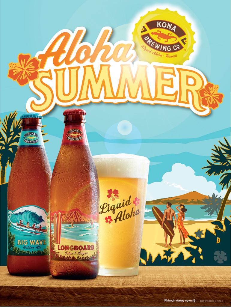 T2 2015 Aloha Summer Poster 18x24