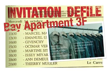 今週末3月25日-26日に開催。90'sから2000年代初頭のコレクションブランドが勢ぞろいのVintage Clothing 販売イベント|Bay Apartment 3F