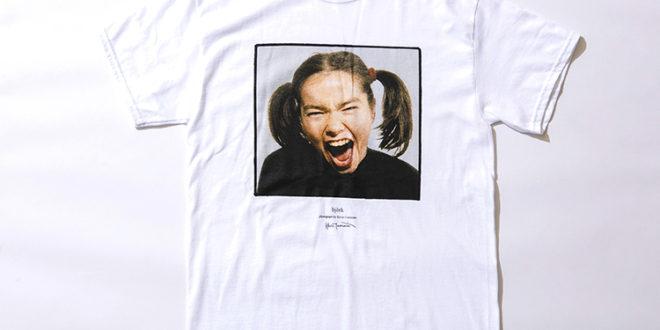 Kevin Cummins × Bjork × JSコラボTシャツが登場。JOURNAL STANDARD