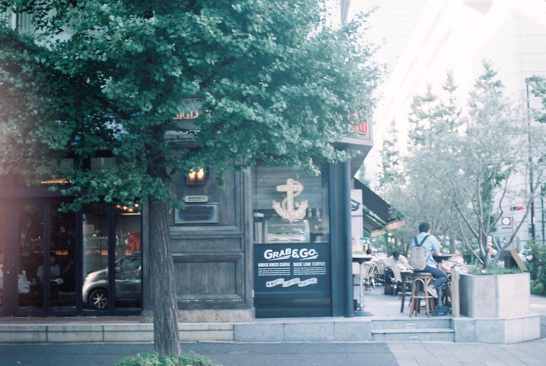 有楽町駅前。行き交う人を眺めながら昼下がりにコーヒーブレイク。Tokyo coffee guide 2020   Entry No.20 KNOTS COFFEE ROASTERS