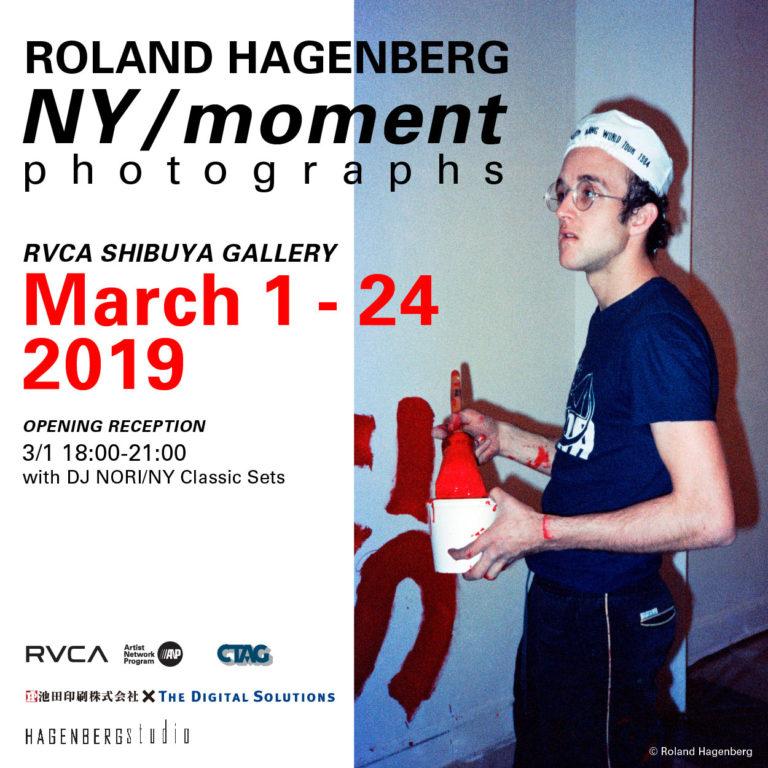 """80年代NYアートシーンの写真をRVCA GALLERYにコンパイル。Roland Hagenberg photographs """"NY / moment"""" が3月1日より開催。"""