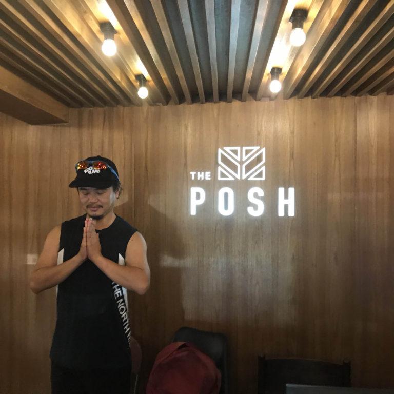 バンコク旅2019。宿泊先初日は「THE POSH」ラグジュアリーホステルで。
