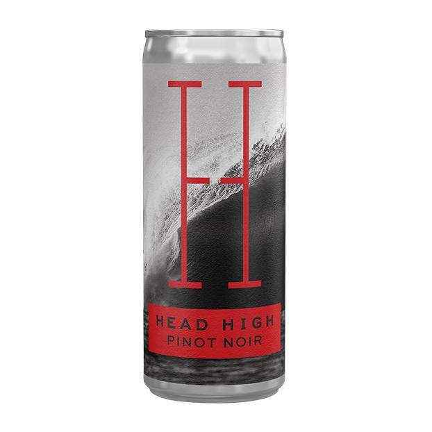 おしゃれな見た目の缶ワイン(ピノ・ノワール)が美味しかったので。HEAD HIGH WINES – CALIFORNIA