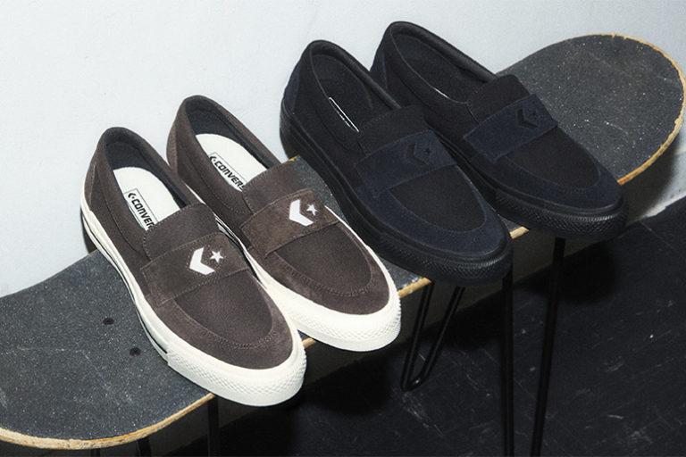 アーカイブローファーモデルがスケート仕様にアップデート|コンバーススケートボーディング