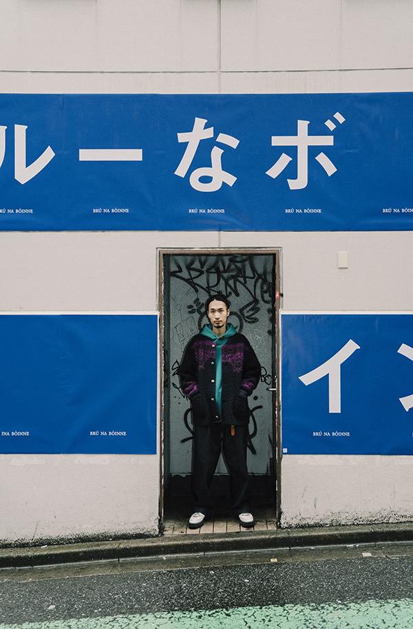"""コロナ禍で断絶された""""ファッションと街""""を改めて発信 """"ブルーナボイン""""がハロウィンの渋谷に遊び心を仕掛ける! 新規プロジェクト「ブルーなボイン?」が始動。"""